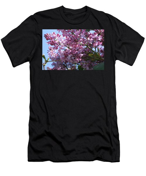 Lilacs In Bloom 2 Men's T-Shirt (Athletic Fit)