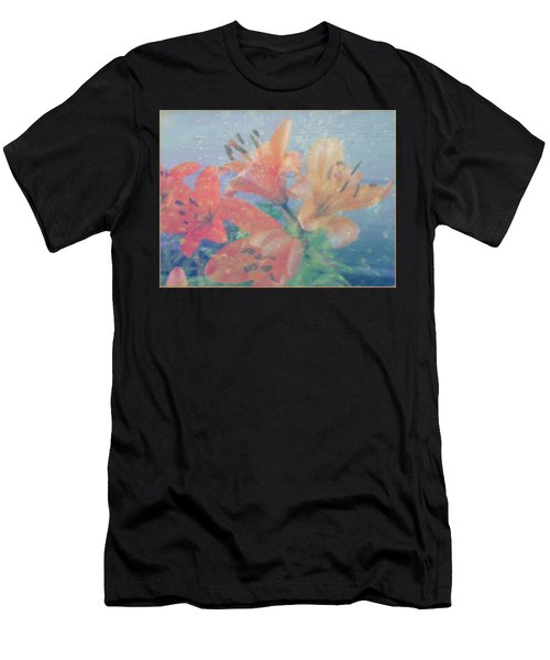 Lilies #1 Men's T-Shirt (Athletic Fit)