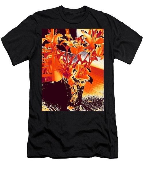 Lilies #2 Men's T-Shirt (Athletic Fit)