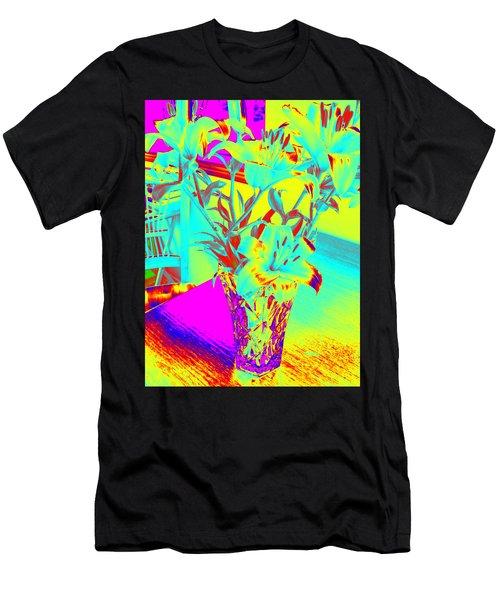 Lilies #4 Men's T-Shirt (Athletic Fit)