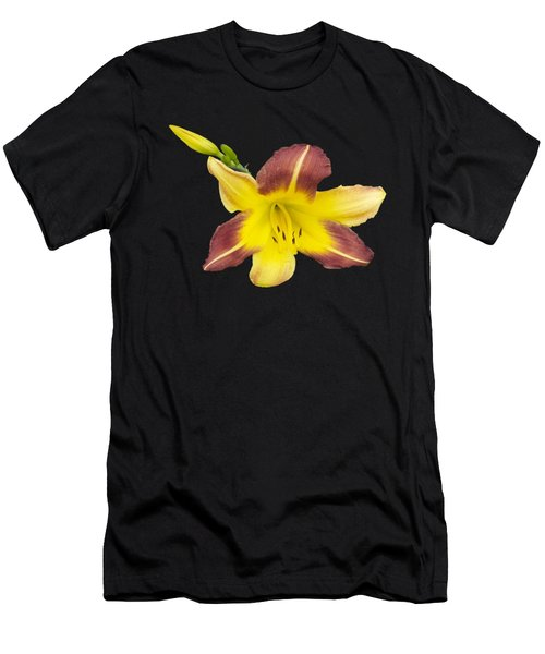 Men's T-Shirt (Slim Fit) featuring the photograph Lily And Bud 2 by Mike Breau