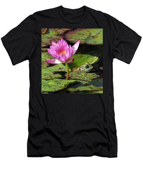 Lily And The Bullfrog Men's T-Shirt (Athletic Fit)