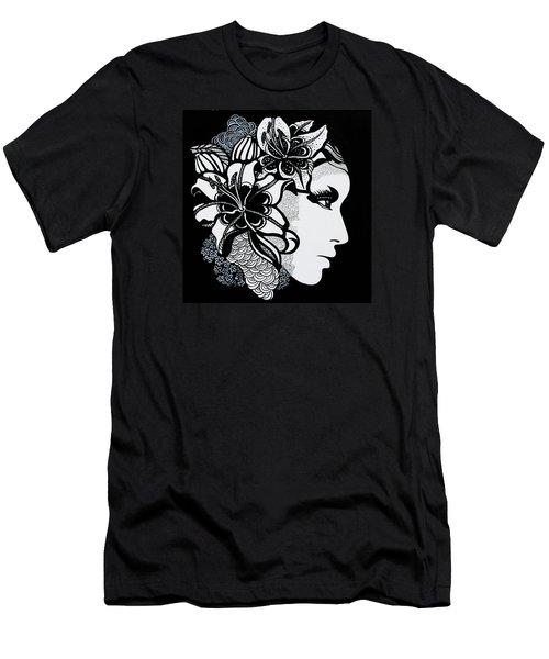 Lily Bella Men's T-Shirt (Slim Fit) by Yelena Tylkina