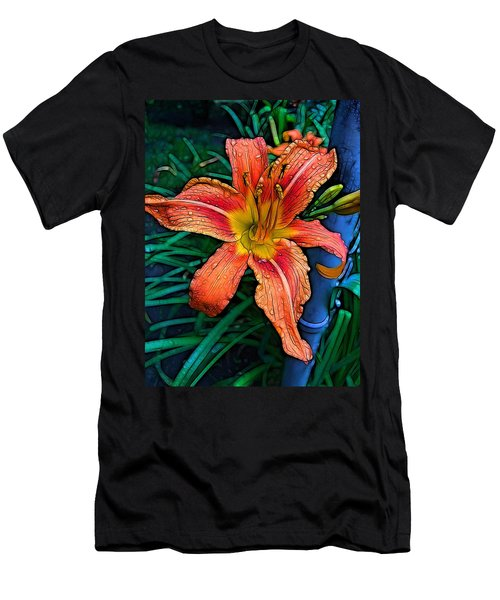 Lily Bold Men's T-Shirt (Athletic Fit)