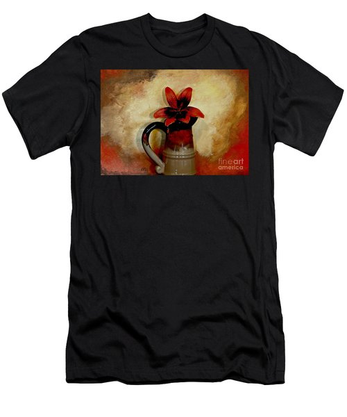 Lily Lovely Men's T-Shirt (Slim Fit) by Marsha Heiken