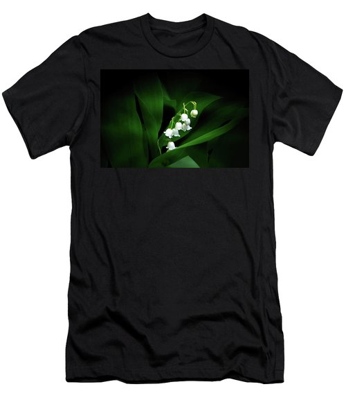 Lily Of The Valley Men's T-Shirt (Slim Fit) by Judy Johnson