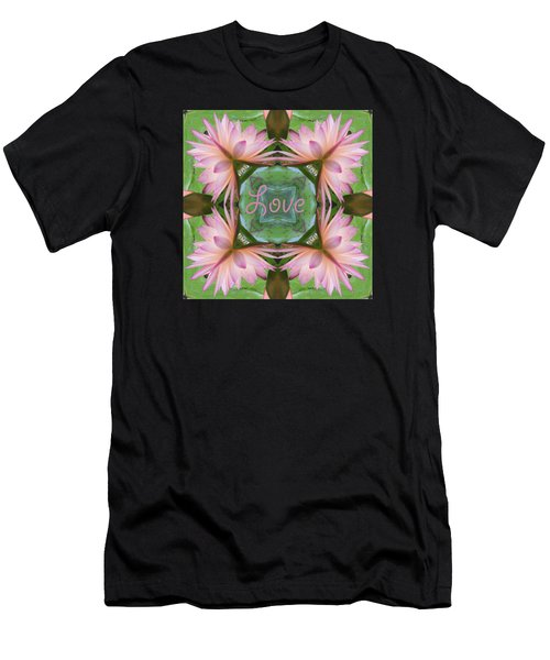 Lily Pad Love Men's T-Shirt (Athletic Fit)