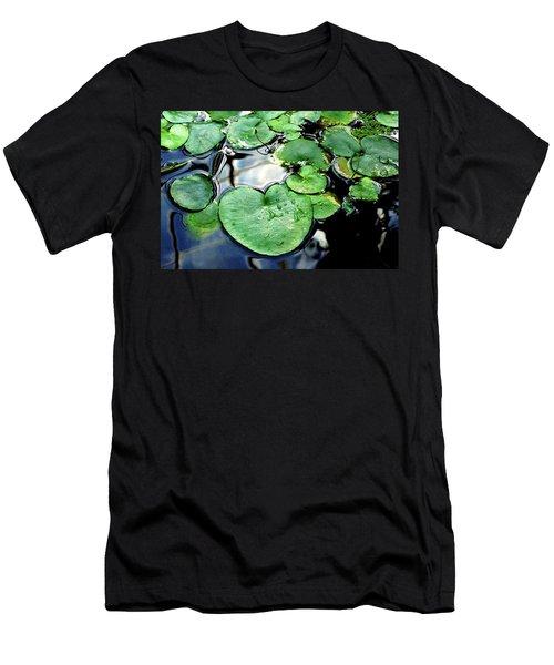 Lily Pond Men's T-Shirt (Athletic Fit)