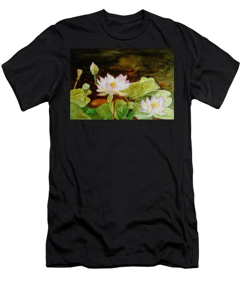 The Lily Pond - Painting  Men's T-Shirt (Athletic Fit)