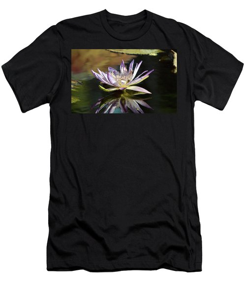 Lily Reflections Men's T-Shirt (Athletic Fit)