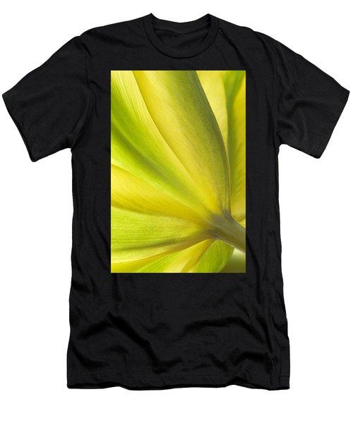 Lime Tulip Men's T-Shirt (Athletic Fit)