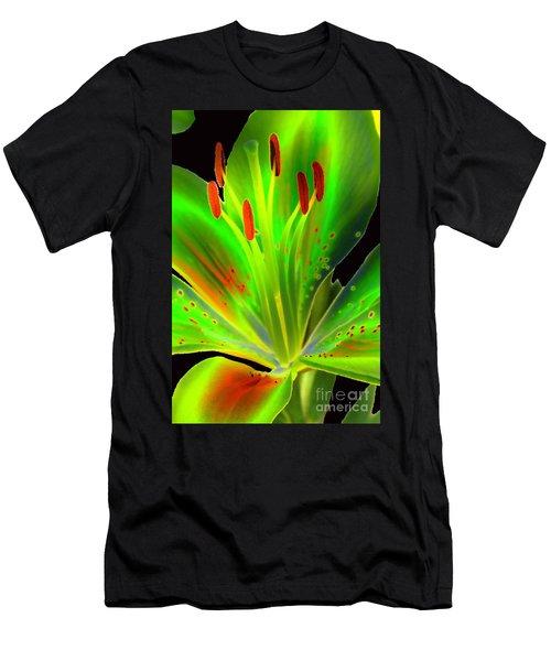 Lime Twist Men's T-Shirt (Athletic Fit)