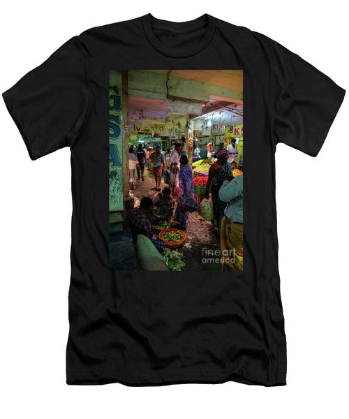 Men's T-Shirt (Slim Fit) featuring the photograph Limes For Sale by Mike Reid