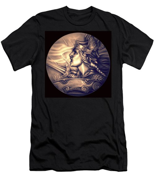 Limited Edition French Genius In Armor Men's T-Shirt (Athletic Fit)