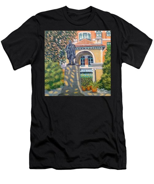Lincoln At Union Square, N.y. Men's T-Shirt (Athletic Fit)