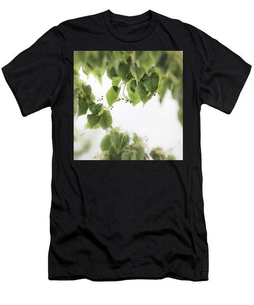 Linden In The Rain 2 -  Men's T-Shirt (Athletic Fit)