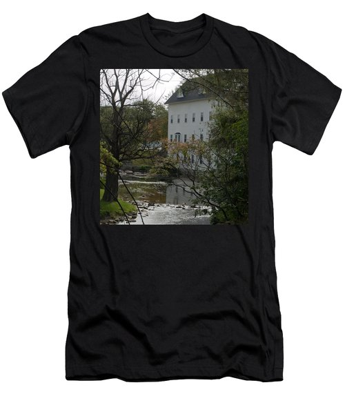 Linden Mill Pond Men's T-Shirt (Slim Fit) by Tara Lynn