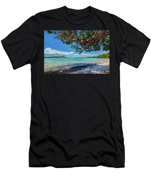 Lindquist Beach Men's T-Shirt (Athletic Fit)