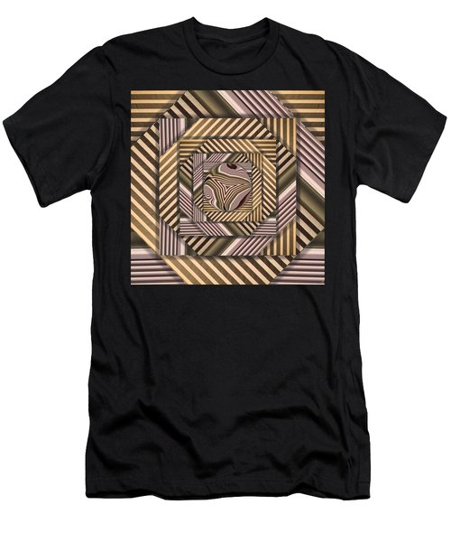 Line Geometry Men's T-Shirt (Athletic Fit)