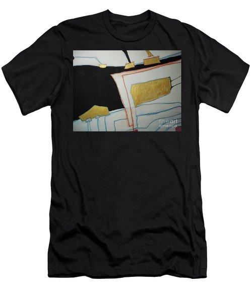 Linear-2 Men's T-Shirt (Athletic Fit)
