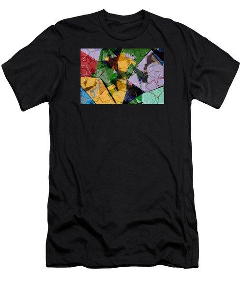 Linear Men's T-Shirt (Slim Fit) by Don Gradner