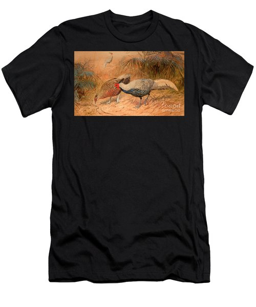 Lineated Kaleege Men's T-Shirt (Athletic Fit)