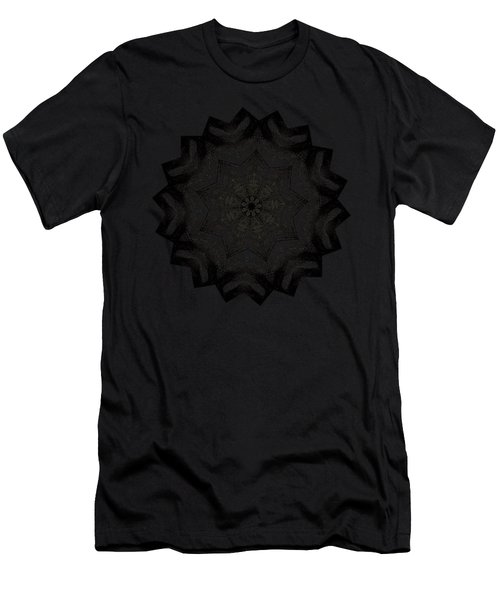 Lines In A Star By Kaye Menner Men's T-Shirt (Athletic Fit)