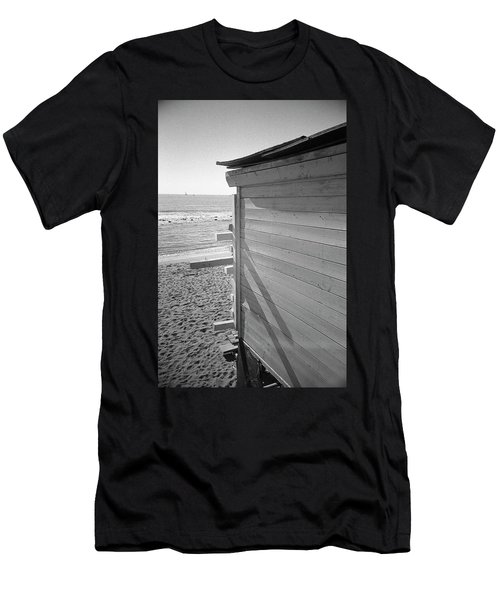 Lines In Ostia Beach Men's T-Shirt (Athletic Fit)