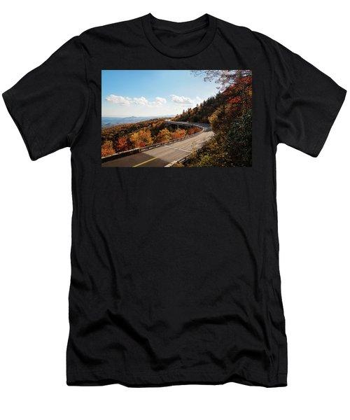 Linn Cove Viaduct Men's T-Shirt (Athletic Fit)