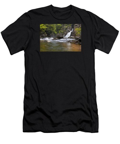 Linville Falls Basin Men's T-Shirt (Athletic Fit)