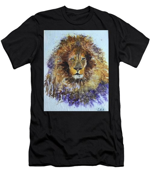 Lion Head Men's T-Shirt (Athletic Fit)