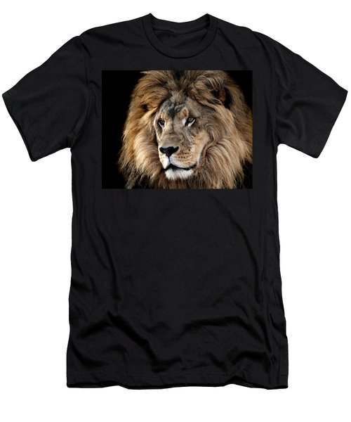 Lion King Of The Jungle 2 Men's T-Shirt (Athletic Fit)