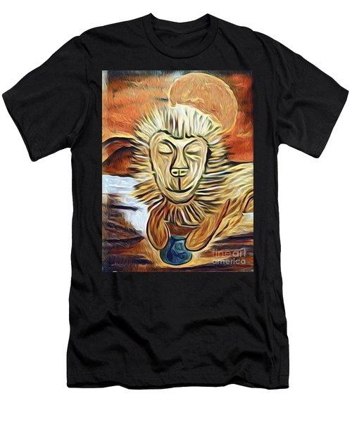 Lion Of Judah II Men's T-Shirt (Athletic Fit)