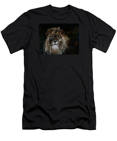 Sargas The Lion Men's T-Shirt (Slim Fit) by Barbie Batson