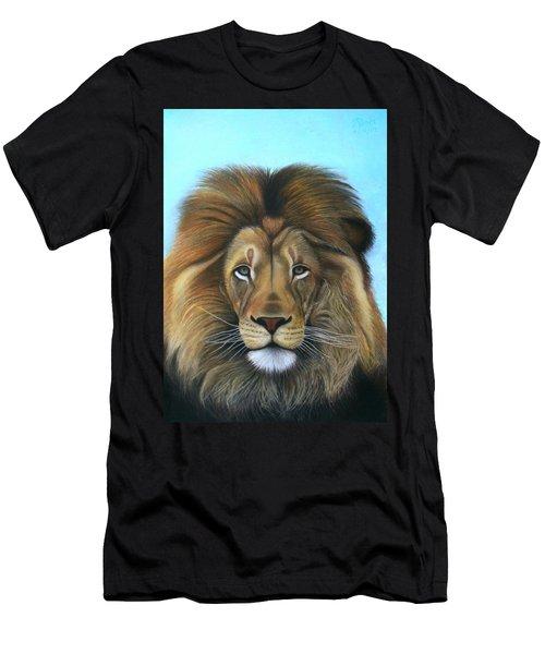 Lion - The Majesty Men's T-Shirt (Athletic Fit)