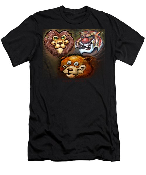 Lions And Tigers And Bears Oh My Men's T-Shirt (Athletic Fit)