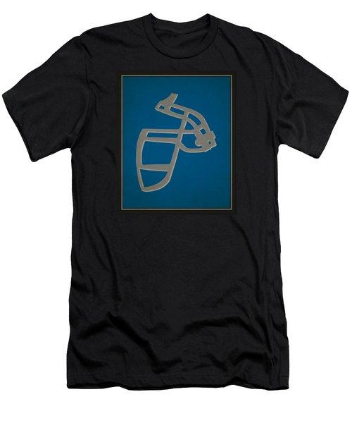 Lions Face Mask Men's T-Shirt (Athletic Fit)