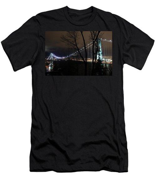 Lions Gate Bridge Men's T-Shirt (Athletic Fit)