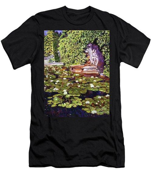 Lion's Head Fountain Men's T-Shirt (Athletic Fit)