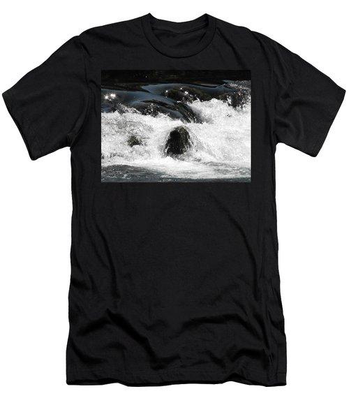 Liquid Art Men's T-Shirt (Athletic Fit)