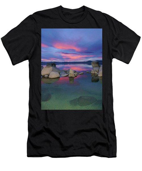 Men's T-Shirt (Athletic Fit) featuring the photograph Liquid Dreams Portrait by Sean Sarsfield