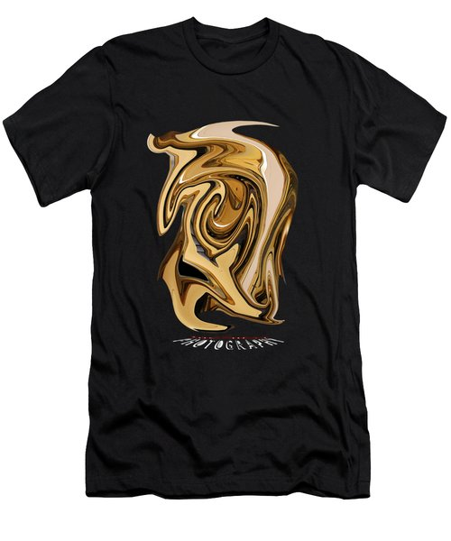 Liquid Gold Transparency Men's T-Shirt (Athletic Fit)