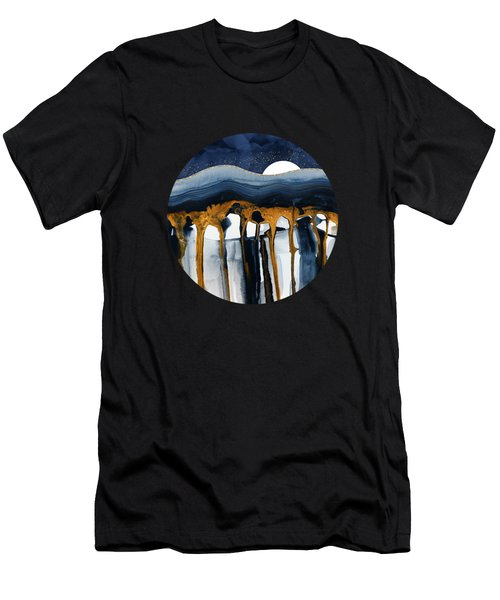 Liquid Hills Men's T-Shirt (Athletic Fit)