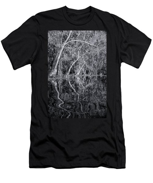 Liquid Silver Men's T-Shirt (Athletic Fit)