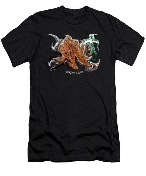 Liquid Stump Transparency Men's T-Shirt (Athletic Fit)