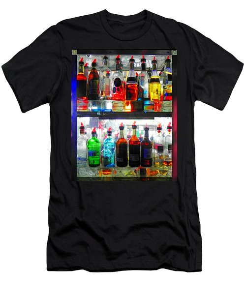 Liquor Cabinet Men's T-Shirt (Athletic Fit)