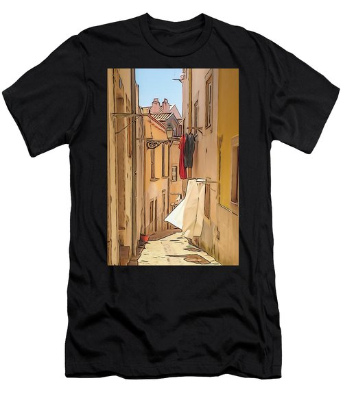 Lisbon Street #2 Men's T-Shirt (Athletic Fit)