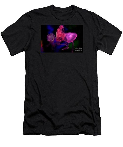 Lit Jellies  Men's T-Shirt (Athletic Fit)