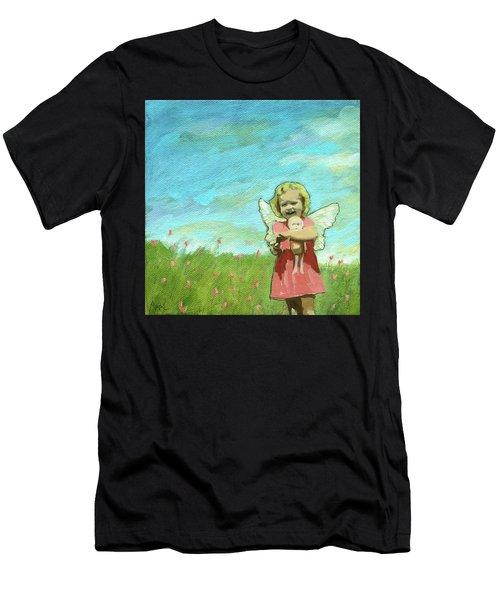 Little Angel Men's T-Shirt (Athletic Fit)