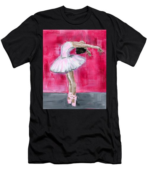 Little Ballerina #2 Men's T-Shirt (Athletic Fit)